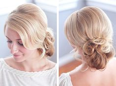 Bridal Hair: Romantic & Messy Chignon Tutorial