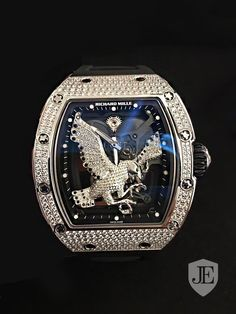 Richard Mille NEW & UNIQUE RM 57-02 Falcon White Gold Diamonds in Hong Kong for sale (10495951)