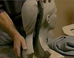 Firing Figurative Clay Sculpture: How to Hollow Out a Handbuilt Form in…