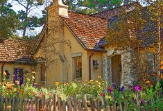 The Fairytale Cottages of Carmel | Flickr - Photo Sharing!