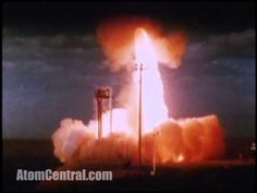 This is the Sprint anti-ballistic missile, it carries a W66 enhanced radiation thermonuclear warhead and accelerated at 100 g during launch, reaching a speed of Mach 10 in 5 seconds. During her 15 seconds flight, skin temperature rises to 6200 °F (3400 °C) making it grow white-hot.