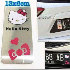TOKO SOUVENIR ONLINE                                                           KOLEKSI HELLO KITTY : emblem plat mobil hk