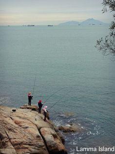 Hong Kong - fishing on Lamma Island