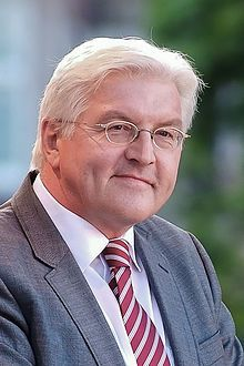 2016 GERMANY: German Foreign Minister Frank Walter Steinmeier Socialist Democratic Party, Wikipedia, the free encyclopedia
