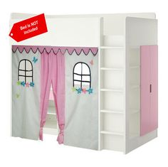 Bunk bed Playhouse / Bed tent / Loft bed curtain free design