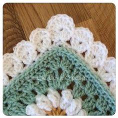 Lovely Blanket Border: free crochet pattern