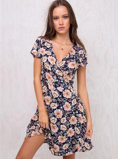 ec40dbeaef Sidnee Floral Wrap Dress. Shopaholic Queen ♛ · Princess Polly