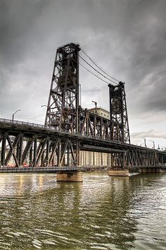 Steel Bridge - Willamette River, Portland, Oregon