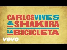 "Learn Spanish in a fun way with the music video and the lyrics of the song ""La Bicicleta"" of Carlos Vives & Shakira Spanish Classroom, Teaching Spanish, Summer Lesson, Spanish Songs, Types Of Music, Fun To Be One, Audio, Music Bands, Music Is Life"