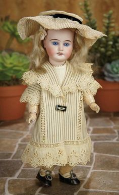 German Bisque Child in Factory-Original Costume by Gebruder Kuhnlenz 300/500 | Art, Antiques & Collectibles  Toys & Hobbies  Dolls  | Auctions Online | Proxibid