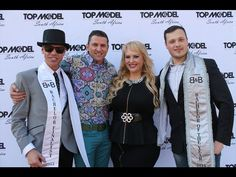 Wayne Stafford, Eddy Rust, Michelle Hinrichsen and Bachelor of the Year 2014 Guy Saben