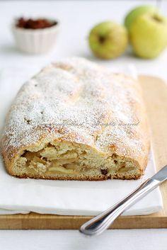 Strudel di mele in pasta frolla