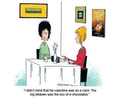 Valentine's Day Cartoons|via @readersdigest