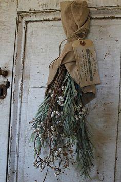 cinnamon creek dry goods | HANDMADE | Tallow Berry & Herb bundle |