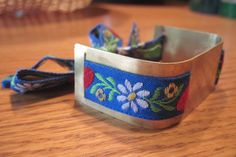 Anthropologie Inspired Brass Bracelet