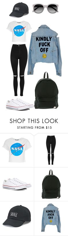 """""""Untitled #145"""" by ladivazamendes on Polyvore featuring Topshop, Converse, Roxy and SO"""