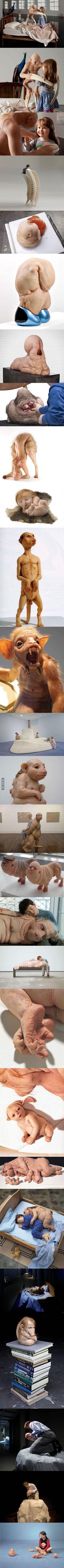 The Bizarre Sculptures Of Patricia Piccinini