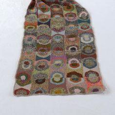 """Echarpe Sophie Digard crochet, modèle """"UTOPIA"""""""