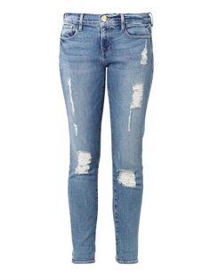 Le Garçon mid-rise tailored boyfriend jeans   Frame Denim   MA...