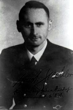 """Korvettenkapitän Ernst Hechler (1907-1965), Kommandant Unterseeboote """"U 870"""", Ritterkreuz 21.01.1945"""