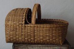 Little Amish or Newborn Baby Basket