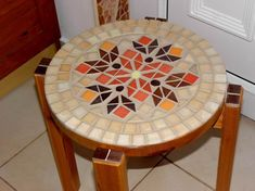 lil mosaic table