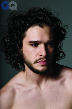 As usual, sad fox Jon Snow looks moody as a Byronic hero in his portrait for GQ's Men of the Year. Hot damn. I would marry him in a hot flash.