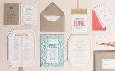 Beautiful wedding invitation deign by Christine... | Art & Design | Nae-Design Sydney Interactive Blog