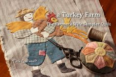 Patchwork *Pink Caramel*: The Farmer's Wife Sampler Quilt