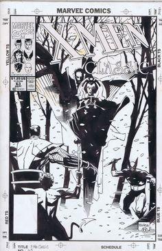 Mignola Classic X-Men #63 Cover Comic Art