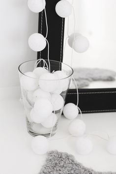 Cotton ball lichtslinger