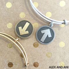 ALEX AND ANI CHARITY BY DESIGN STAND UP TO CANCER BANGLE!
