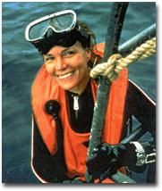 Sylvia Alice Earle (August 30, 1935 - present) is an American oceanographer and a renowned marine biologist. In 1970, she headed the first women's team of aquanauts for a project known as the Tektite Project. She was the chief scientist for National Oceanic and Atmospheric Administration, US. Currently, she is a deep sea explorer-in-residence of National Geographic channel.