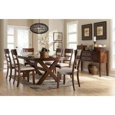 Ashley Furniture Signature Design Burkesville 8 Piece Dining Group at Big Sandy Superstore