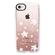 Hand drawn star - iPhone 7 Case And Cover ($40) ❤ liked on Polyvore featuring accessories, tech accessories, iphone case, iphone cover case, clear iphone case, apple iphone case and iphone cases