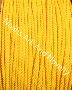 YELLOW Polly Rope