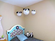 Panda bed and Lanterns