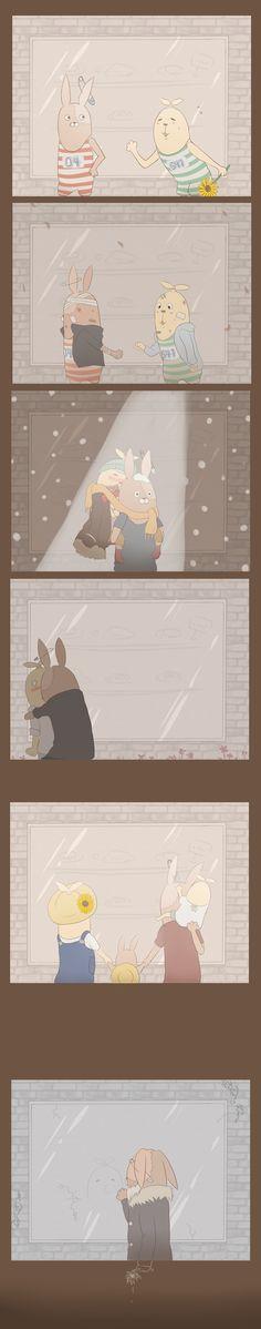 【腐/キレプー】ひまわり Shadow Of The Colossus, Three Dimensional, Rabbit, Animation, Comics, Awesome, Cute, Anime, Adventure Time