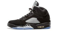 super popular 7a3db 57524 Nike Mens AIR Jordan 5 Retro OG, Black Fire RED-Metallic Silver-White, 14,  Size  14 D(M) US, Black Fire Red-Mtllc Slvr-Wht