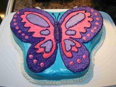Butterfly Cake For Girls Birthday