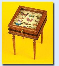 Taller Targioni butterfly cabinet