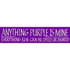 ♥Have to make this for a fellow purple lover