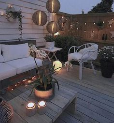 Small gardens, back gardens, backyard lighting, fence lighting, outdoor Back Patio, Backyard Patio, Backyard Landscaping, Outdoor Rooms, Outdoor Gardens, Outdoor Decor, Small Gardens, Outdoor Deck Lighting, Fence Lighting