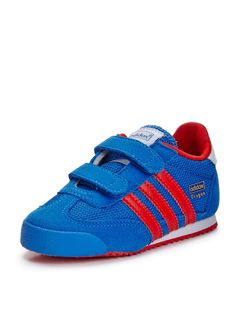Dragon Toddler Trainers, blue/red