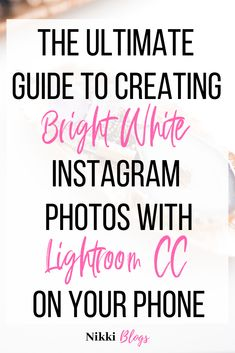 Learn to edit your photos for gorgeous clean Instagram images using Lightroom CC. See why I made the switch from Snapseed and VSCO to the best photo editing app in the business. Whether you're a stay at home mom or small shop owner, this step-by-step guide will help get you going with a premium app that can be a bit tricky to learn how to use. Improve your Instagram feed by posting higher quality content and grow your brand with consistency. Plus, you'll find a basic intro to photo editing…