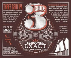 Schooner Exact Brewing Company The Dieline