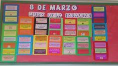 Ideas para el mural del día 8 de marzo Día Internacional de la Mujer