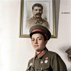 All sizes   Lyudmila Pavlichenko - Soviet sniper 1942 WWII   Flickr - Photo Sharing!