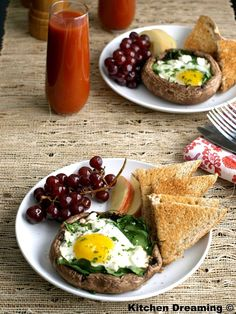 ... arugula and chive baked egg cups bernicefarinas egg recipes quiche