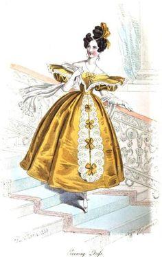1833. Evening dress.